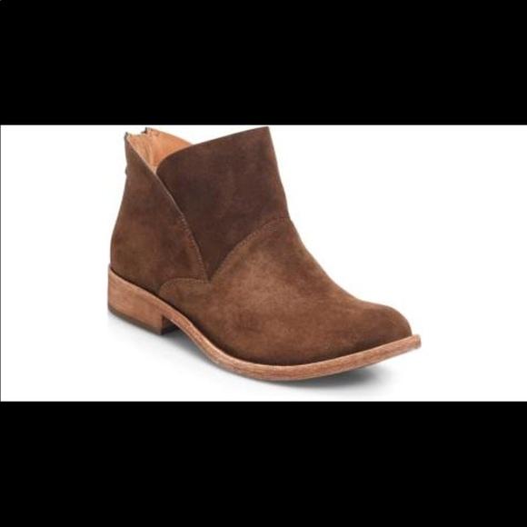 4ffd126f212 Kork ease Ryder brown suede ankle boots 8